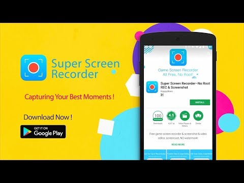 Super Screen Recorder–No Root REC & Screenshot 3 9 9 14 Download APK