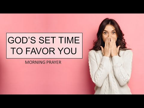 GOD'S SET TIME TO FAVOR YOU - PSALM 102 - MORNING PRAYER  PASTOR SEAN PINDER (video)