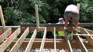 July 18, 2019 - Deck Construction Continues at My House
