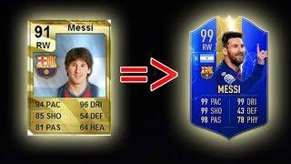 EVOLUTIA LUI LIONEL MESSI IN FIFA !!!