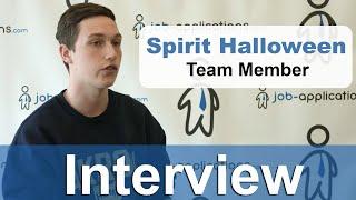 Spirit Halloween Interview - Team Member
