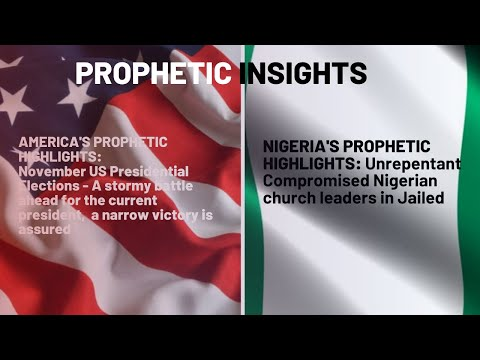 The Lord Says To Compromised Nigerian Church Leaders; Repent or the President will Jail You - 06/12