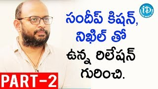 Director Vi Anand Exclusive Interview Part #2 || Talking Movies With iDream
