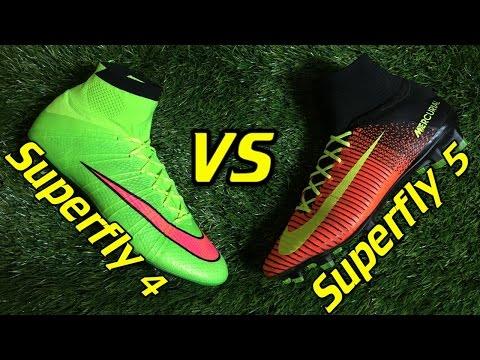 bdbfc5780 Video Nike Mercurial Superfly 4 vs Superfly 5 - Comparison + Review -  UCUU3lMXc6iDrQw4eZen8COQ