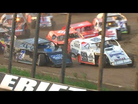 Econo Mod Feature | Eriez Speedway | Kyle Miller Memorial | 6-27-21 - dirt track racing video image