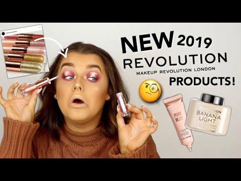 FULL FACE OF NEW IN MAKE UP REVOLUTION! OKURRR 2019 NEWNESS!   Rachel Leary - UC-Um2u0Agv8Q-OhjO6FZk1g