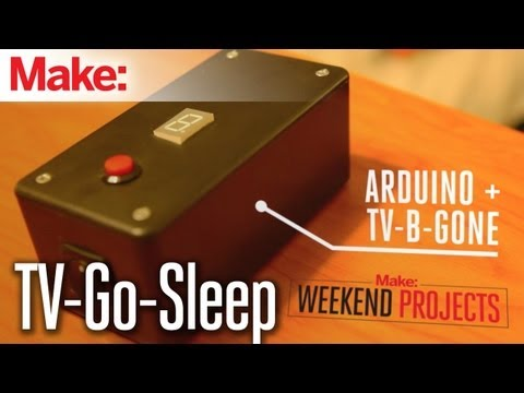 Weekend Projects - TV-Go-Sleep Universal TV Timer - UChtY6O8Ahw2cz05PS2GhUbg