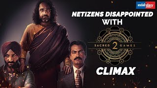 Netizens Disappointed With Sacred Games 2 Climax