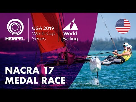 Nacra 17 Medal Race | Hempel World Cup Series: Miami, USA