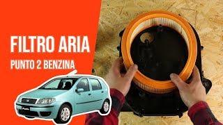 Come smontare il filtro aria motore di una Fiat Punto