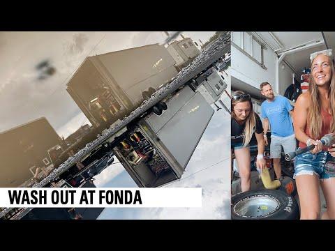 Rain Out Festivities At Fonda Speedway - dirt track racing video image