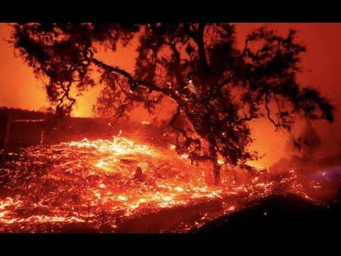 Breaking California Wildfires Monster Winds
