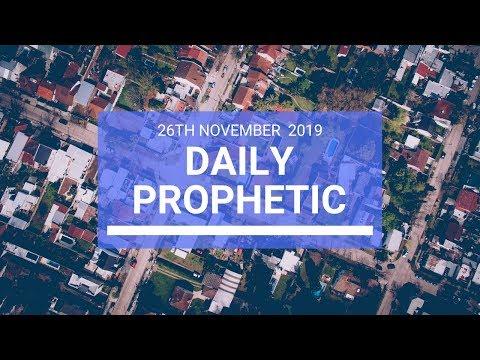 Daily Prophetic 26 November Word 2