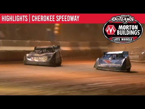 World of Outlaws Morton Buildings Late Models Cherokee Speedway October 2, 2020 | HIGHLIGHTS - dirt track racing video image