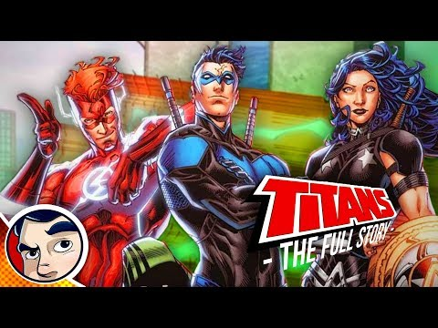 "Titans Rebirth ""Origin to Death of..."" Full Story 