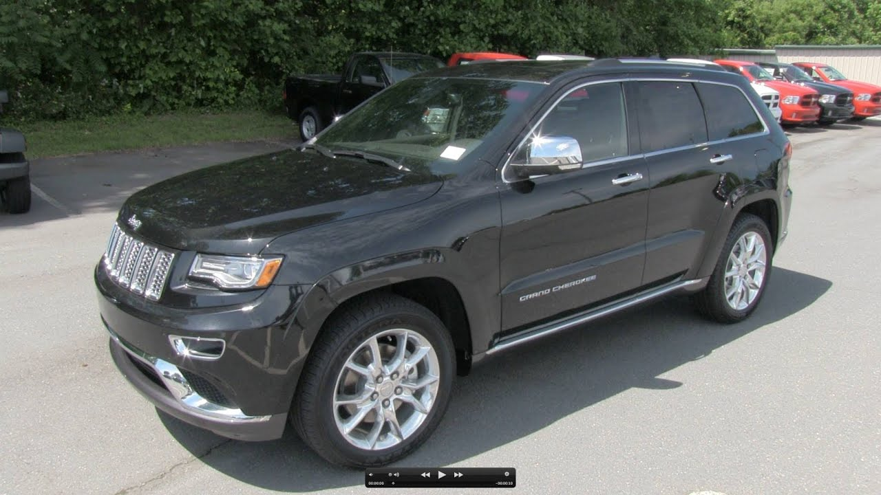 2014 jeep grand cherokee summit v8 start up exhaust and in depth review f. Black Bedroom Furniture Sets. Home Design Ideas
