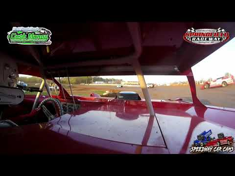 #19 Tyler Barker - Cash Money Late Model - 04-11-2021 Springfield Raceway - In Car Camera - dirt track racing video image