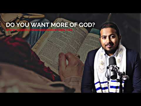 DO YOU WANT MORE OF GOD? THEN WATCH THIS, POWERFUL MESSAGE & PRAYER BY EV. GABRIEL FERNANDES