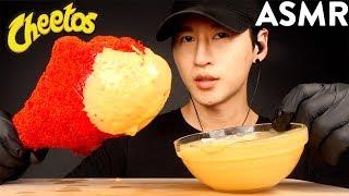ASMR CHEESY HOT CHEETOS GIANT TURKEY LEG MUKBANG (No Talking) EATING SOUNDS | Zach Choi ASMR