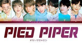 BTS - Pied Piper (방탄소년단 - Pied Piper) [Color Coded Lyrics/Han/Rom/Eng/가사]