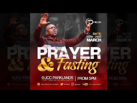 Prayer and Fasting Day 1  JCC Parklands Live Service - 15th March 2021.