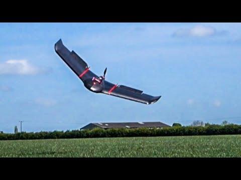 SenseFly eBee: Survey and Mapping Drone Flies Autonomously