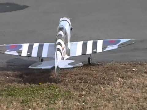 RC Phoenix Spitfire maiden flight with .52 four stroke. - UCtvA1Rl9QN0KWki_3mCcN7A