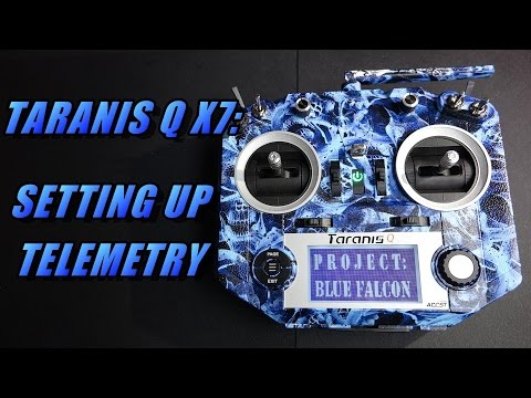 Taranis Q X7 Quick Tips: Setting up and using/showing telemetry