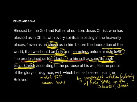 Ephesians 1:36 // Part 12 // How Do Predestination and Election Relate?