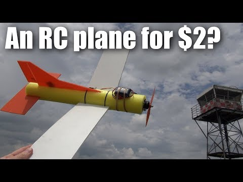 The $2 pool-noodle RC plane build and flight test (part 2) - UCQ2sg7vS7JkxKwtZuFZzn-g