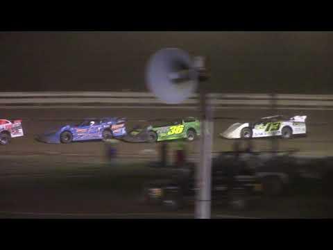 Hummingbird Speedway (7-31-21): Carns Equipment Super Late Model Feature - dirt track racing video image