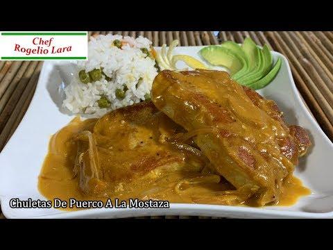 Chuletas De Puerco A La Mostaza , Receta Deliciosa ! - UCKkinZz8CfbX-Hr6zcXOO7Q