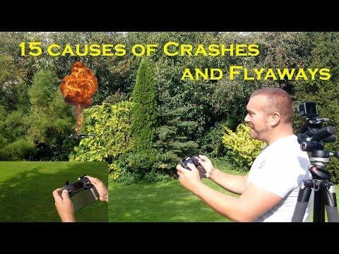 15 Causes of Drone Crashes and Flyaways - Avoid crashing your drone - UCdP4yGgQSPGci2B3qdmoJHw