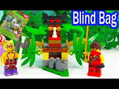 Blind Bag Ninjago Ninja Kai Playset Surprise Mystery Toy Unboxing Playing Video Review Cookieswirlc - UCelMeixAOTs2OQAAi9wU8-g