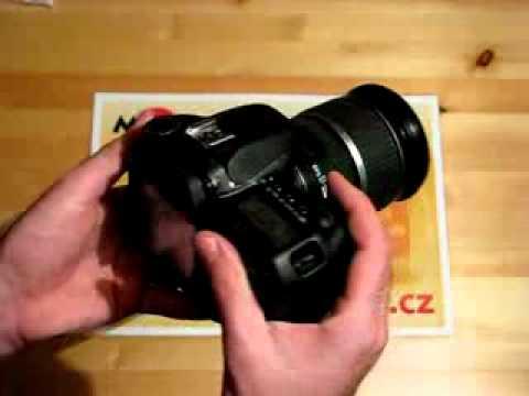 Videorecenze Canon EOS 40D tělo