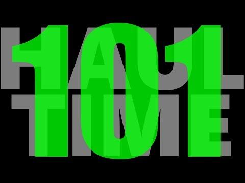 Haul Time #101  - UCnJyFn_66GMfAbz1AW9MqbQ