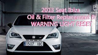 Cambiare olio motore Seat Ibiza 1.4 Quarta Serie