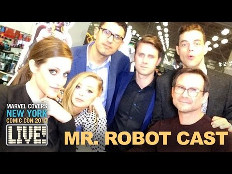 "The Cast & Crew of ""Mr. Robot"" come to Marvel LIVE! - UCvC4D8onUfXzvjTOM-dBfEA"