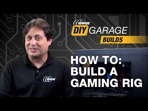 Newegg DIY Garage: How to Build a Gaming PC - i7-6700, 850 EVO, & GTX 970 - UCJ1rSlahM7TYWGxEscL0g7Q