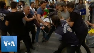 At Least 4 People Detained as Kurds Protest Ousting of Mayors in Turkey