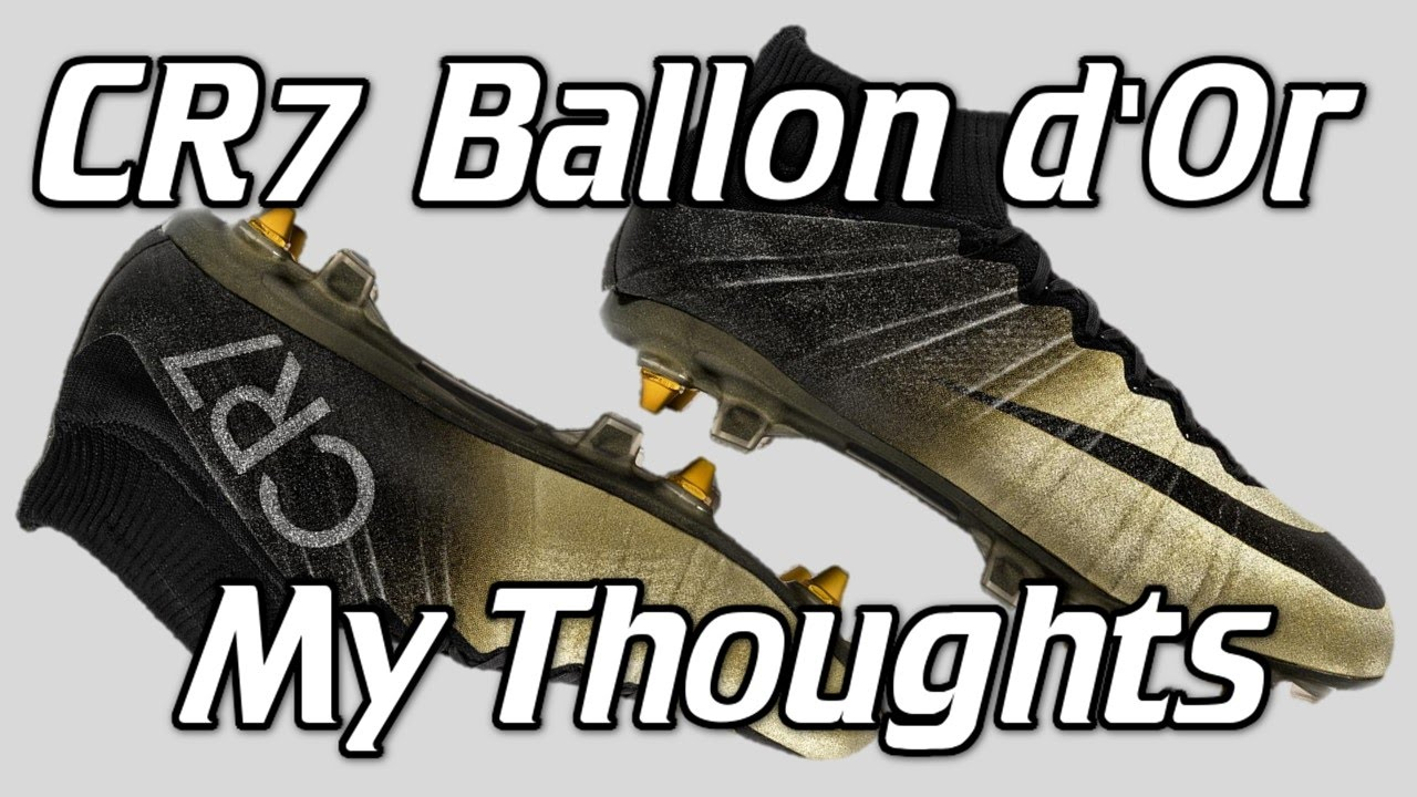 new styles 6444d 521ac Ballon d'Or Rare Gold Nike CR7 Mercurial Superfly 4 - My ...