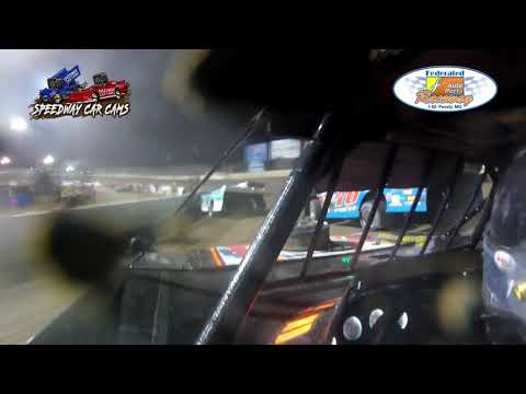 #26M Brent McKinnon - DIRTcar Late Model - 7-24-2021 Federated Auto Parts I55 Raceway -In Car Camera - dirt track racing video image