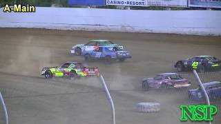 August 10, 2019 Street Stocks Jeff Daniel Ironman 50 A-Main Grays Harbor Raceway