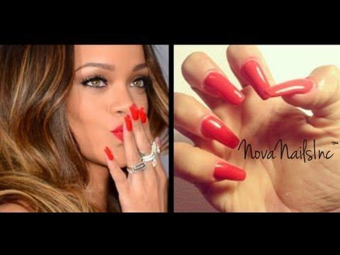 TUTORIAL: Uñas Squaletto Rojas Inspiradas en Rihanna ♥ - UCowMwfSTD45vs9gEkRA8RBw