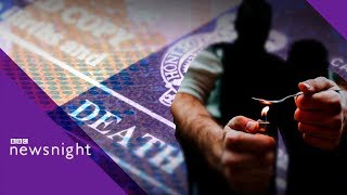 Data shows Scotland has the highest drug death rate in the EU - BBC Newsnight