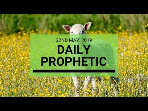 Daily Prophetic message 22 May 2019