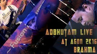 Adbhutam Live at Agon 2K16 - adbhutam , Fusion