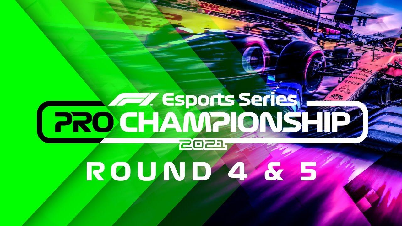 LIVE: 2021 F1 Esports Pro Championship: Rounds 4-5