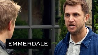 Emmerdale - Lee Threatens to Make Victoria's Life a Misery
