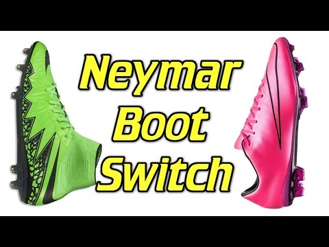 Neymar Boot Switch - Hypervenom to Mercurial - UCUU3lMXc6iDrQw4eZen8COQ